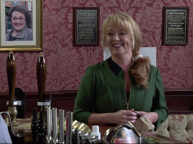 Jenny on the first episode of Coronation Street on November 27, 2020
