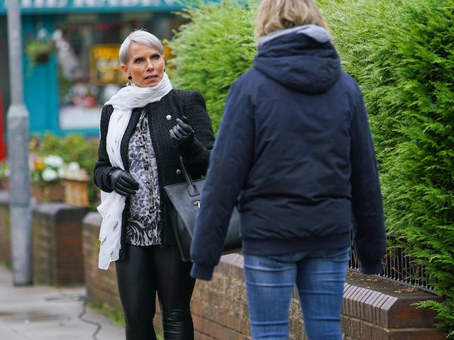 Debbie and Abi on the first episode of Coronation Street on November 30, 2020