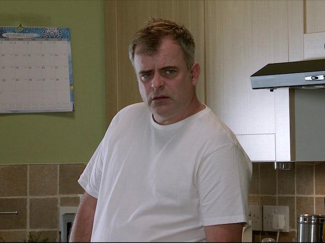 Steve on the second episode of Coronation Street on November 30, 2020