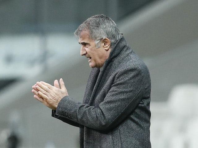 Turkey head coach Senol Gunes pictured on November 11, 2020