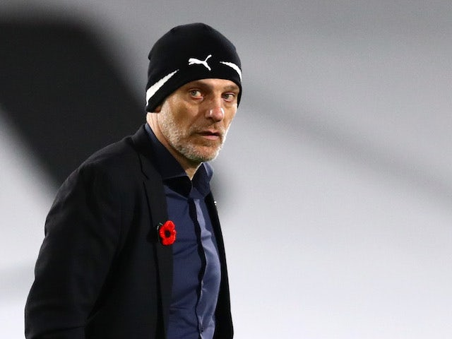 West Bromwich Albion manager Slaven Bilic pictured in November 2020