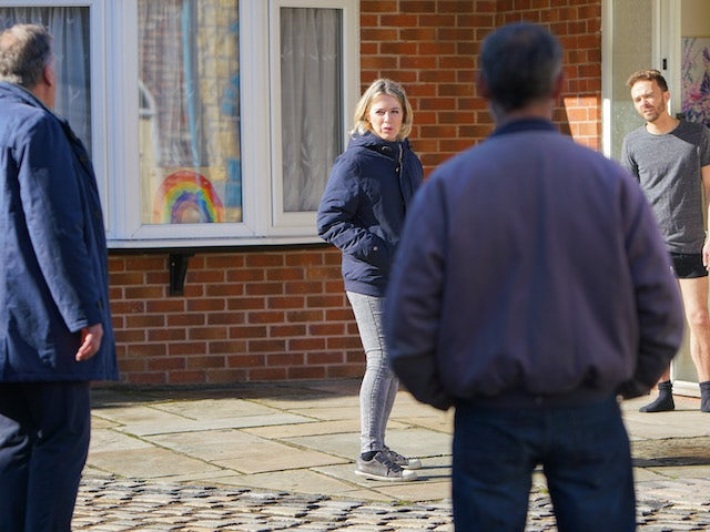 Abi on the first episode of Coronation Street on December 2, 2020