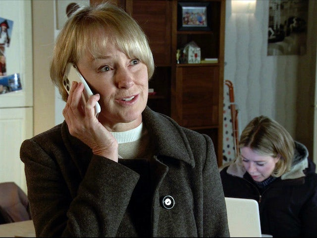 Sally on the second episode of Coronation Street on November 30, 2020