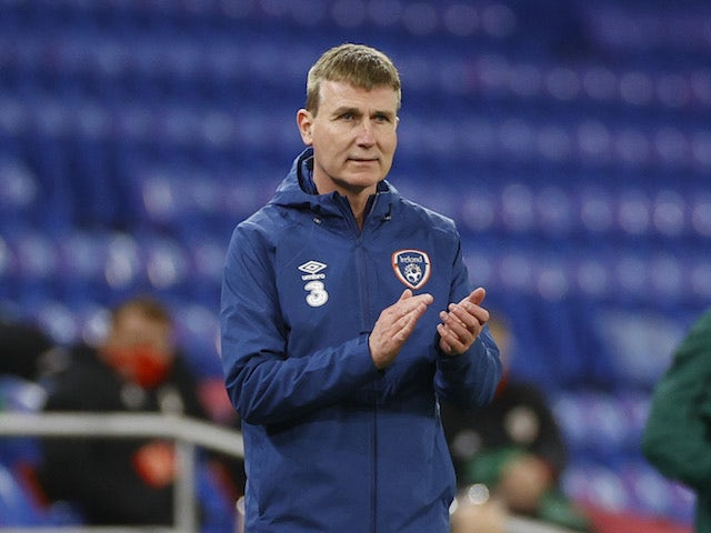Republic of Ireland manager Stephen Kenny pictured on November 15, 2020