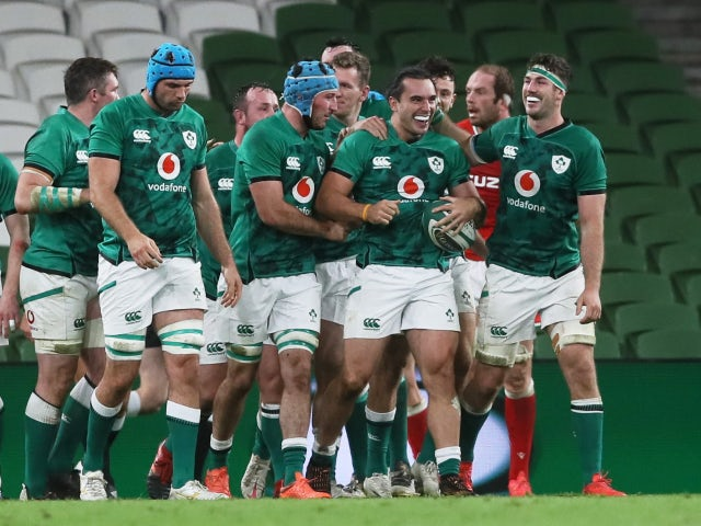 Result: Ireland kick off Autumn Nations Cup with dominant win over Wales