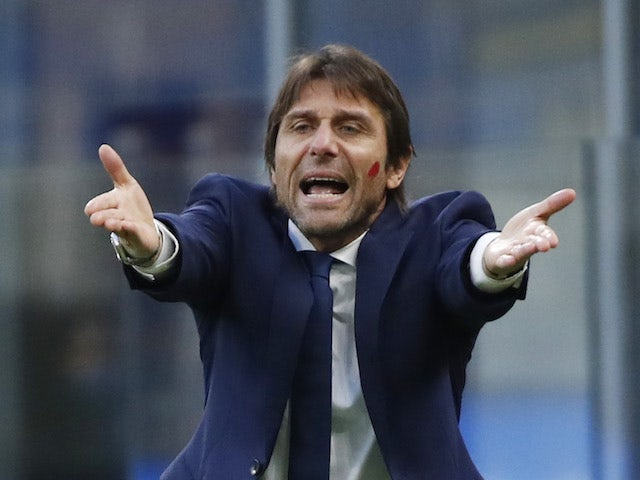 Inter Milan manager Antonio Conte pictured on November 22, 2020