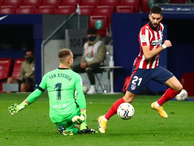 Result: Marc-Andre ter Stegen mistake costs Barcelona against Atletico Madrid