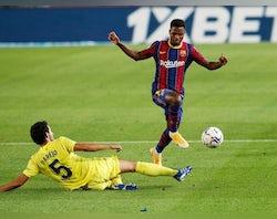 Barcelona injury, suspension list vs. Ferencvaros