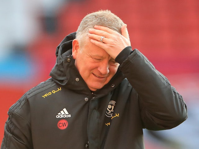 Chris Wilder excited for return of