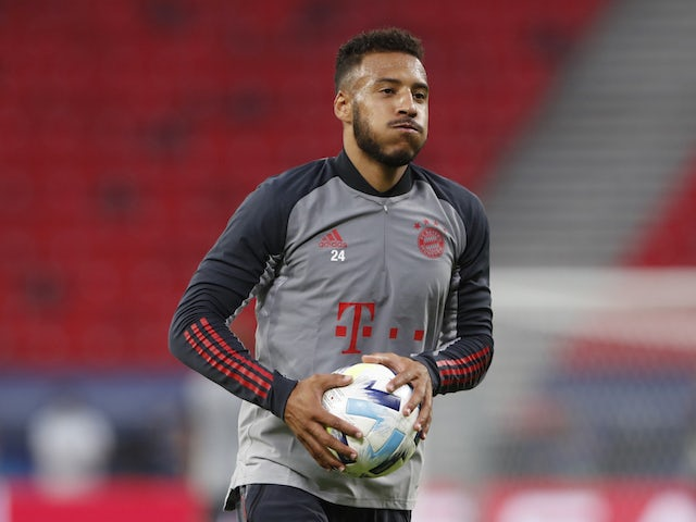 Bayern Munich's Corentin Tolisso pictured in October 2020