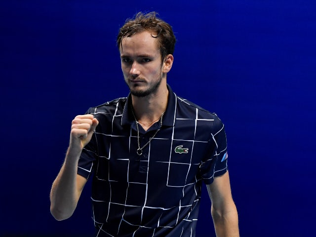 Result: Daniil Medvedev records dominant win over Novak Djokovic to book last-four spot
