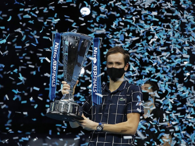 Result: Daniil Medvedev beats Dominic Thiem to win ATP Finals title