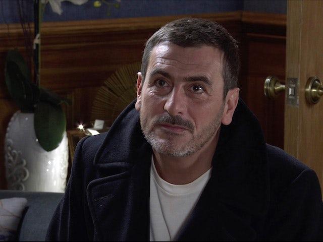 Peter on Coronation Street on December 7, 2020