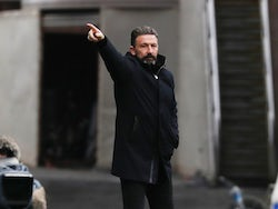 Aberdeen manager Derek McInnes pictured in November 22, 2020
