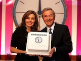 Des O'Connor and Carol Vorderman in their Countdown pomp