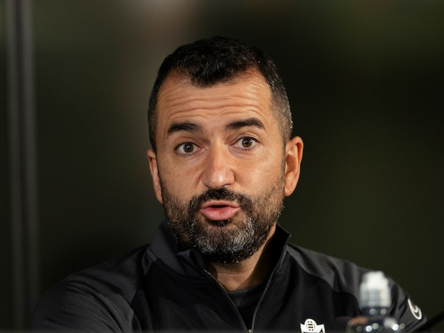 Granada manager Diego Martinez pictured in October 2020