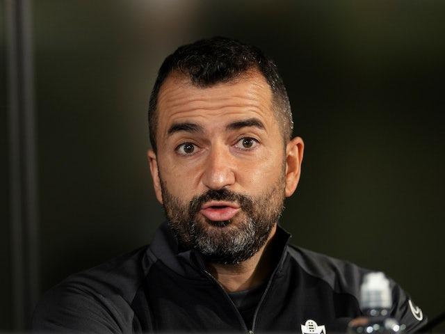Granada manager Diego Martinez pictured in October 2020