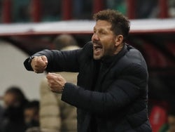 Atletico Madrid manager Diego Simeone pictured in November 2020
