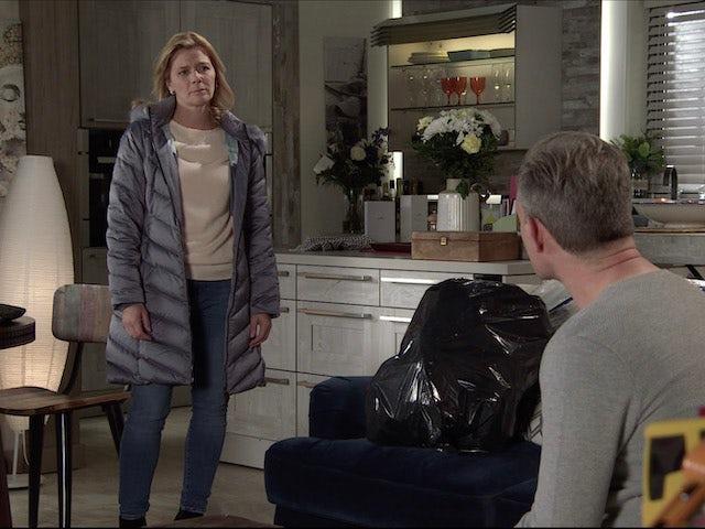 Leanne on Coronation Street on December 7, 2020
