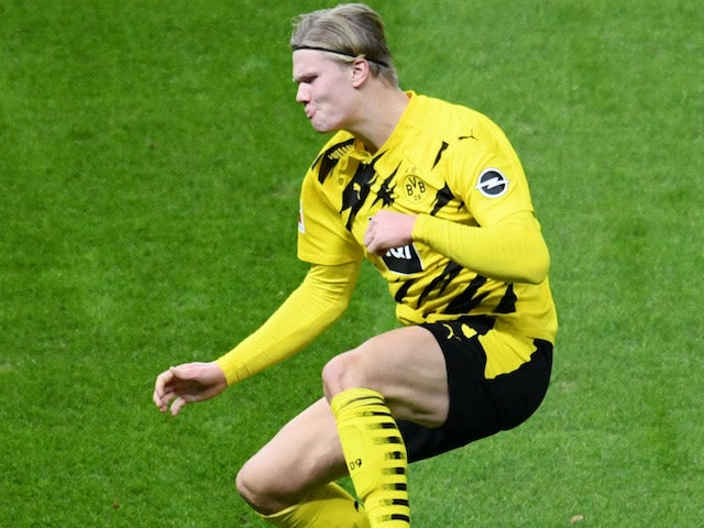 Haaland breaks Champions League goalscoring record