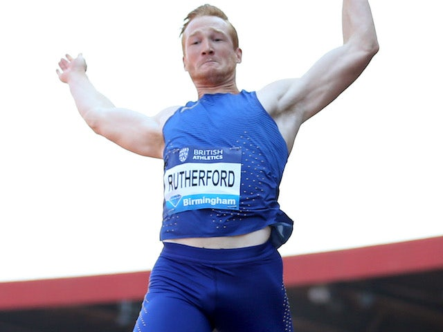 Greg Rutherford pictured in June 2016