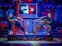 Jamie Laing and Karen Hauer on Strictly Come Dancing week five on November 21, 2020