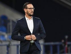 Getafe head coach Jose Bordalas pictured in August 2020