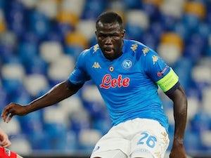 Napoli defender Kalidou Koulibaly pictured in October 2020