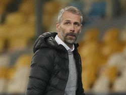 Borussia Monchengladbach manager Marco Rose pictured in November 2020