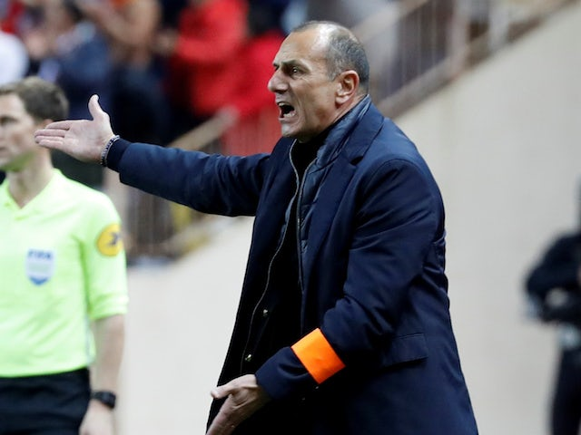 Montpellier manager Michel Der Zakarian pictured in February 2020