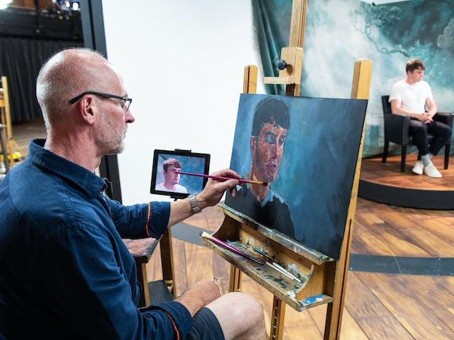 Paul Mescal on Portrait Artist of the Year