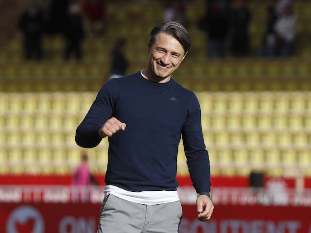 Monaco manager Niko Kovac pictured in September 2020