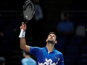 Novak Djokovic cruises past Diego Schwartzman in ATP Finals opener