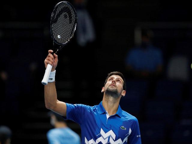Novak Djokovic looks ahead to uncertain 2021 season after ATP Finals opener