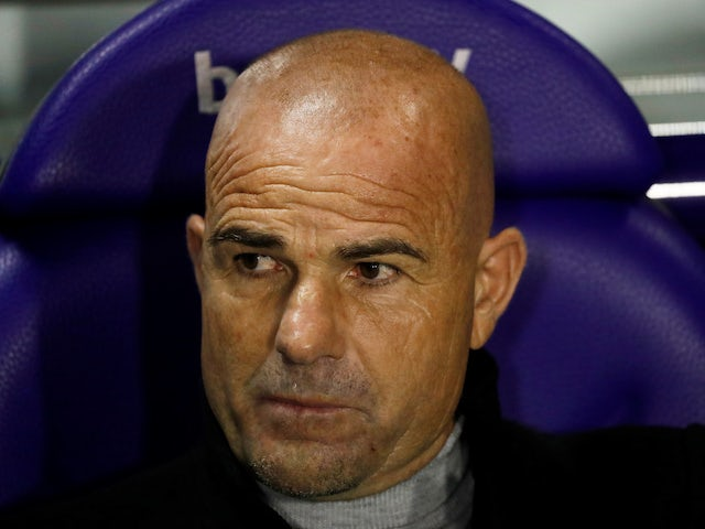 Levante head coach Paco Lopez pictured in February 2020