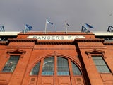 A general shot of Rangers' Ibrox Stadium on November 22, 2020