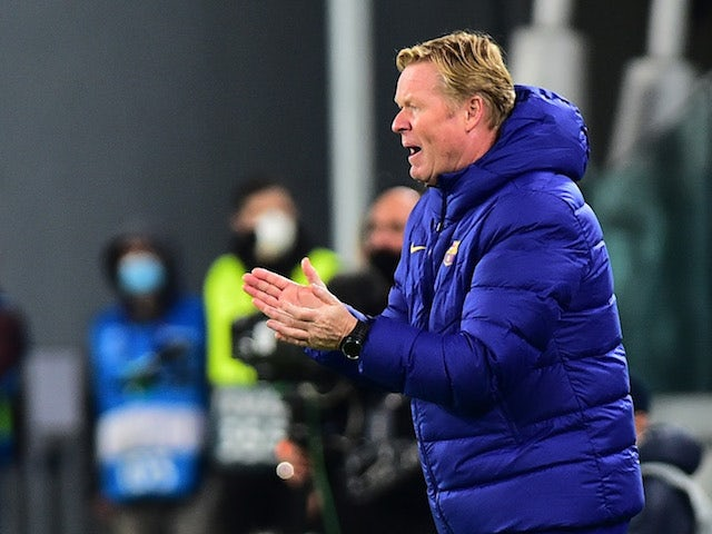 Koeman pleased with Braithwaite, Dembele