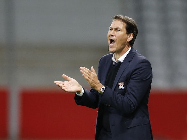 Lyon manager Rudi Garcia pictured in November 2020
