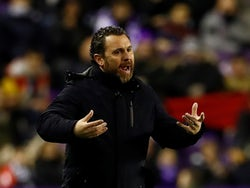 Real Valladolid manager Sergio Gonzalez pictured on January 2020