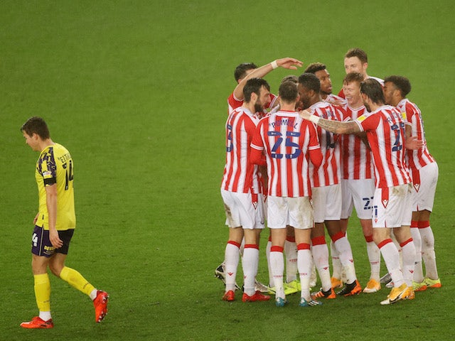 Result: Tyrese Campbell bags brace as Stoke edge seven-goal thriller with Huddersfield