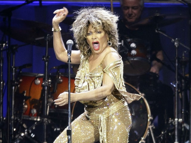 Tina Turner at The O2 in March 2009