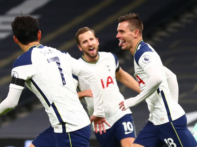 Result: Tottenham reach the summit after hard-fought win over Manchester City