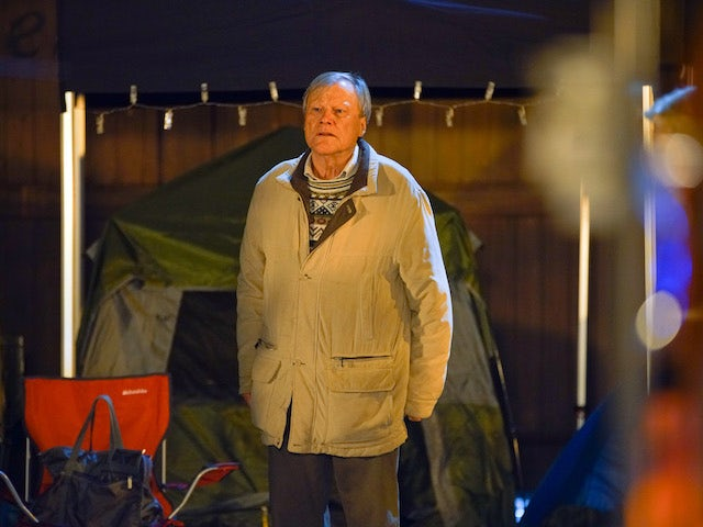 Roy on Coronation Street on December 9, 2020