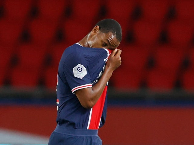 Paris Saint-Germain's Abdou Diallo pictured in September 2020