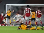 Result: Raul Jimenez suffers serious head injury as Wolverhampton Wanderers win at Arsenal