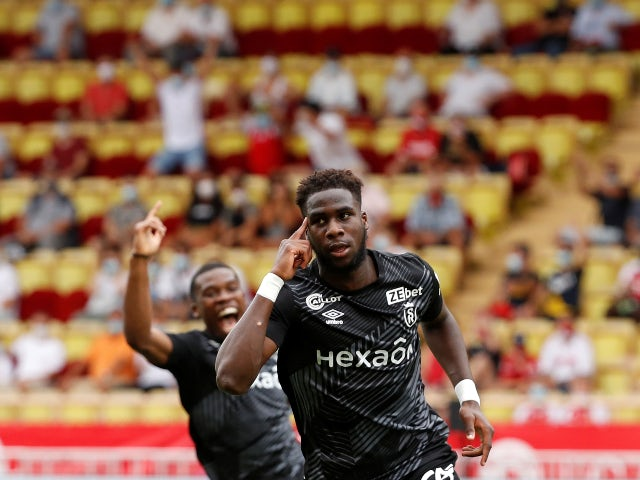 Boulaye Dia pictured for Reims in August 2020