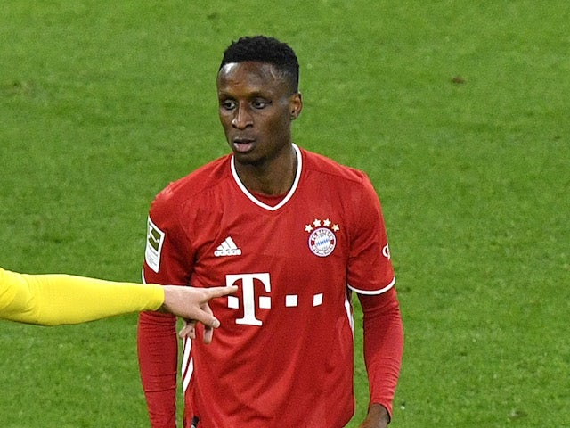 Bayern Munich's Bouna Sarr pictured in November 2020