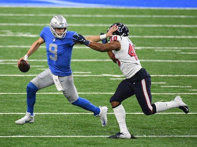 Result: Deshaun Watson stars as Houston Texans overcome Detroit Lions