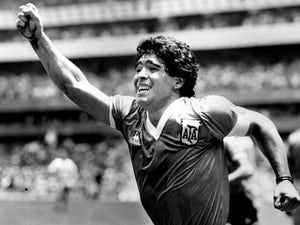 "Football figures hail ""incredibly special"" Diego Maradona"