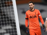 Tottenham Hotspur goalkeeper Hugo Lloris pictured on November 21, 2020
